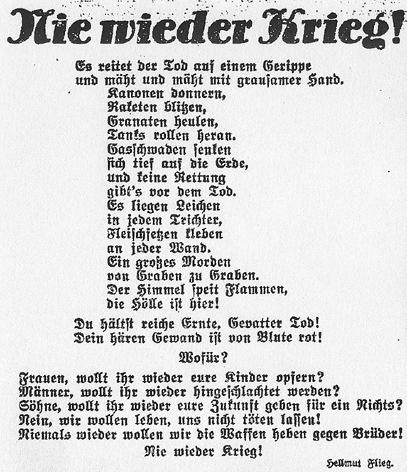 Vor 85 Jahren Stefan Heyms Früheste Veröffentlichung