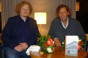 Unternehmer Lars Fassmann (links) und Autor Volker Dittrich. Foto: Henry Kreul