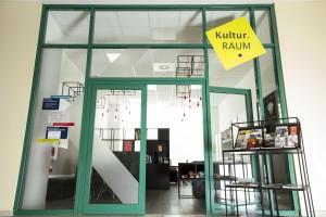 """Der neu gestaltete """"Kultur-Raum"""", der auch als Geschäftsstelle der Internationalen Stefan-Heym-Gesellschaft dient. Foto: Stadt Chemnitz/Kulturbetrieb"""