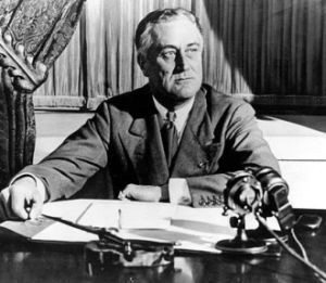 Franklin D. Roosevelt (1882-1945). Foto: The National Archives. Franklin D. Roosevelt Library. 6/30/1941-6/30/1949